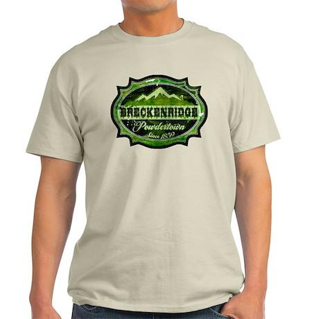 Breckenridge Powdertown Spring Light T-Shirt