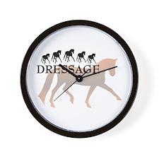 -dressage-  Wall Clock