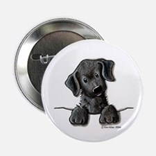 PoCKeT Black Lab Puppy Button