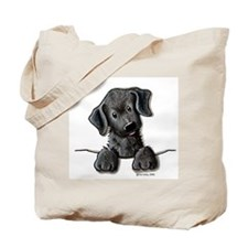 PoCKeT Black Lab Puppy Tote Bag