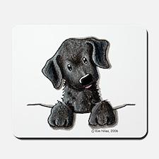 PoCKeT Black Lab Puppy Mousepad