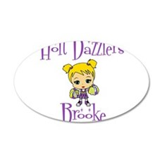 Holt Dazzlers 38.5 x 24.5 Oval Wall Peel