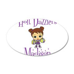 Holt Dazzlers Madison 38.5 x 24.5 Oval Wall Peel