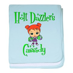Holt Dazzlers Cassidy baby blanket