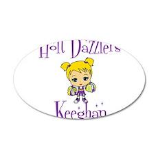 Holt Dazzlers Keeghan 22x14 Oval Wall Peel