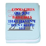 good girls baby blanket