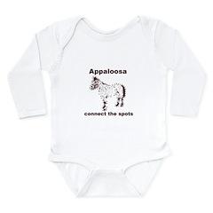 spots Long Sleeve Infant Bodysuit