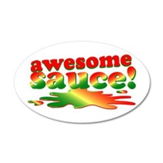 Awesome Sauce Wall Decal