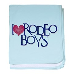 Rodeo Boys baby blanket