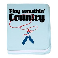 Somethin' Country baby blanket