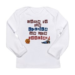 The Darkside Long Sleeve Infant T-Shirt