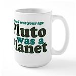 Pluto Was A Planet Large Mug