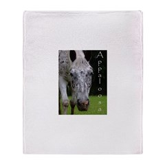 Appaloosa Throw Blanket