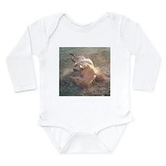 ROLLING Long Sleeve Infant Bodysuit
