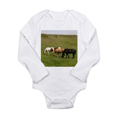 GRAZING Long Sleeve Infant Bodysuit