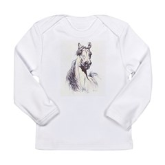 TWO HEARTS Long Sleeve Infant T-Shirt