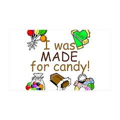 Candy 38.5 x 24.5 Wall Peel
