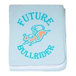 Future Bullrider baby blanket