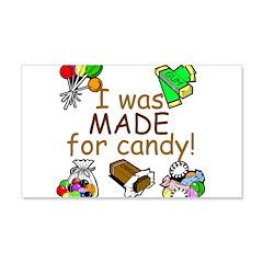 Candy 22x14 Wall Peel
