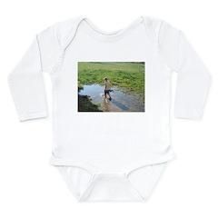 Sassy kids Long Sleeve Infant Bodysuit