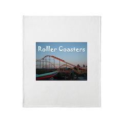 Sunset Coasters Throw Blanket