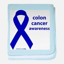 Colon Cancer baby blanket