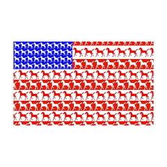 Foal Flag 38.5 x 24.5 Wall Peel