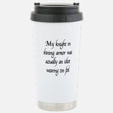 Knight in Shining Armor Travel Mug