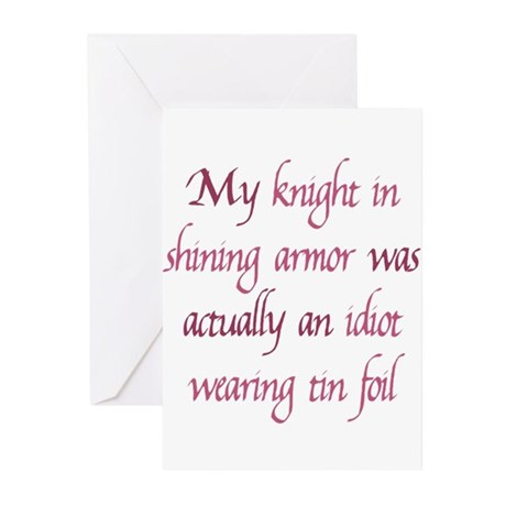 Knight in Shining Armor Greeting Cards (Pk of 10)