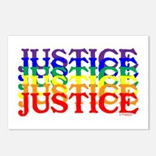 JUSTICE UNITY Postcards (Package of 8)