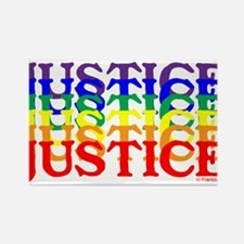 JUSTICE UNITY Rectangle Magnet (100 pack)