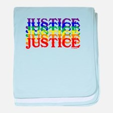 JUSTICE UNITY baby blanket