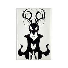 Gnome King Gob Rubezahl Rectangle Magnet
