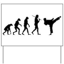 The Evolution Of Karate Yard Sign