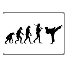 The Evolution Of Karate Banner