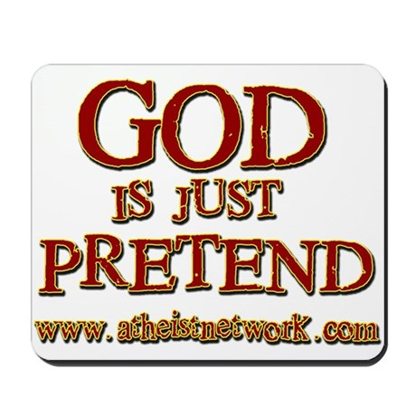 Mousepad - God.. Pretend