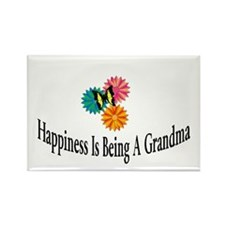 Happy Grandma Rectangle Magnet