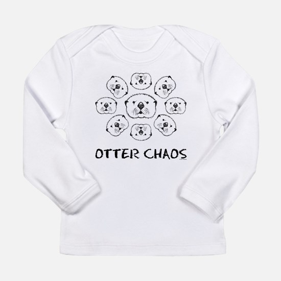 Otter Chaos Long Sleeve Infant T-Shirt