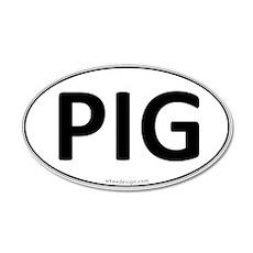 PIG Euro Oval 22x14 Oval Wall Peel