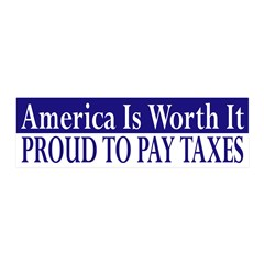 Proud to Pay Taxes reusable wall graphic
