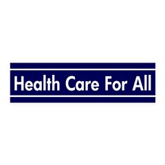 Health Care for All 20x6 Reusable Wall Graphic