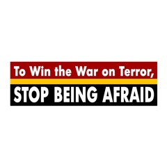 Stop Being Afraid (reusable wall graphic)
