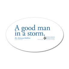 Good Man - Grey's Anatomy 22x14 Oval Wall Peel