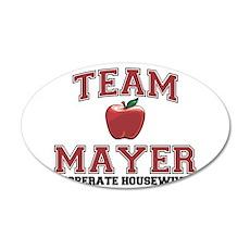 Team Mayer 22x14 Oval Wall Peel