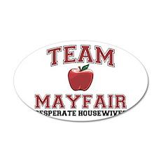 Team Mayfair 22x14 Oval Wall Peel