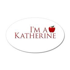 I'm a Katherine 22x14 Oval Wall Peel