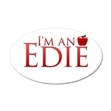 I'm an Edie 22x14 Oval Wall Peel