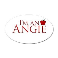 I'm an Angie 22x14 Oval Wall Peel