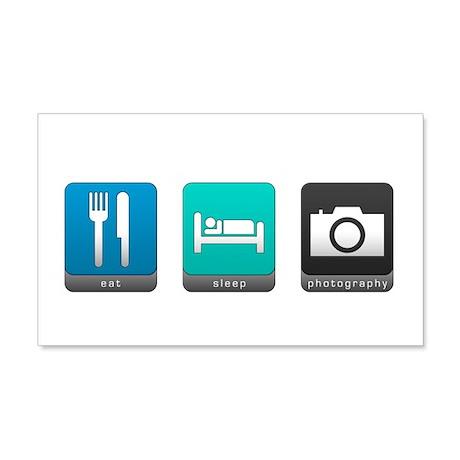 Eat, Sleep, Photography 22x14 Wall Peel