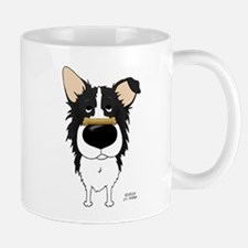 Border Collie Valentine's Mug